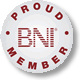 BNI Hunter Valley and Central Coast Proud Member